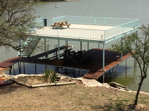 2 story dock