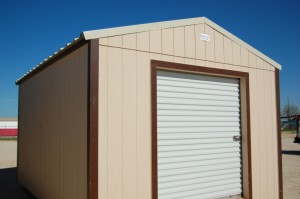 SmartSiding Storage Building